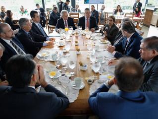 Tereza Cristina pede ao presidente do Supremo solução para as disputas entre produtores e indígenas