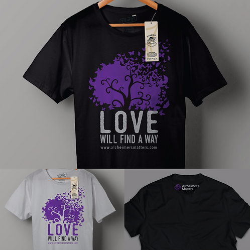 """Our """"Love Will Find a Way"""" Butterfly Tree T-shirt"""