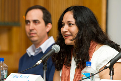 Tucson Cine Mexico Panel 2013 — with Omar Foglio and Martha Uc.