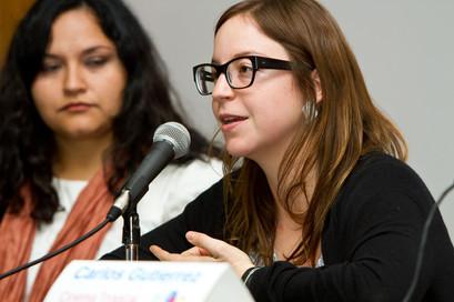 Tucson Cine Mexico Panel 2013 — with Elena Fortes.