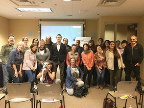 Inspired Tucson filmmakers at Documentary Story Strategies with Fernanda Rossi, a 1.5 day seminar presented by the Hanson Film Institute. November 10th, 2018