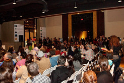 A full house at the Tucson Museum of Art for Tucson Cine Mexico 2011.