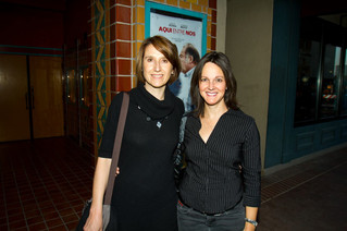 2013 Aqui Entre Nos Screening - Actress, Carmen Beato and Director, Patricia Martinez de Velasco at the historic Fox Tucson Theatre