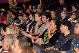 Audience members at Tucson Cine Mexico 2019.