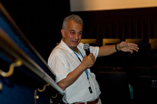 Silvestre Pantaleon - Tucson Cine Mexico 2013 — with Jonathan D Amith.