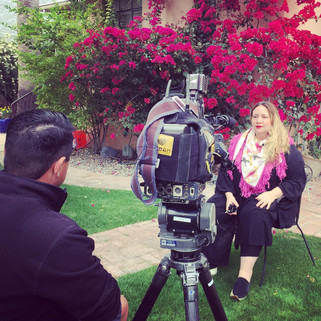 Director María José Cuevas chats about her film BELLAS DE NOCHE playing at Tucson Cine Mexico 2017 on News 4 Tucson – KVOA interviewed by Edgar Ibarra. March 2017