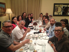 Tucson Cine Mexico dinner with guest filmmakers, committee members, and friends. 2013
