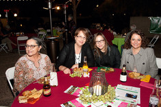 Tucson Cine Mexico Director Vicky Westover, Elena Fortes Director of Ambulante, and Producer Yissel Ibarra at the Tucson Cine Mexico Party. 2011