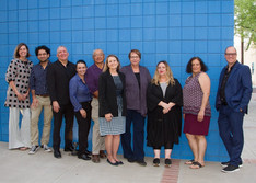 Tucson Cine Mexico committee members and Tucson Museum of Art staff. 2017