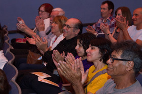 2015 TCM Audience members show their appreciation at a Tucson Cine Mexico screening