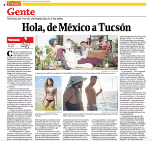 2016 Traveling film showcase from the Hola Mexico Film Festival The nationally touring showcase, presenting 10 recent Mexican films, screened from October 14 – 20, 2016 at our home base, Harkins Tucson Spectrum 18.