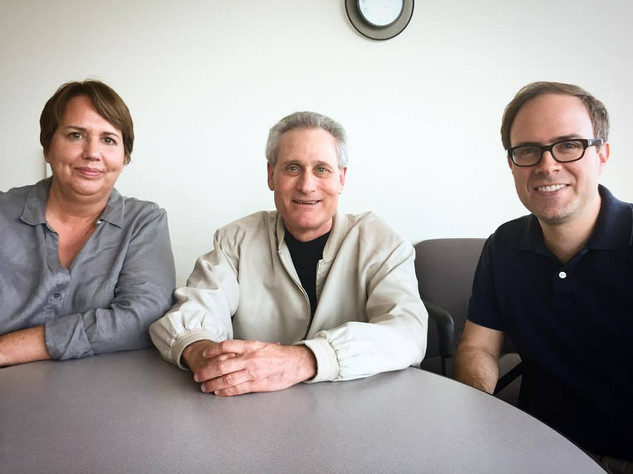 We were delighted to host filmmaker Arnold Leibovit, who travelled to Tucson to screen his documentary THE FANTASY FILM WORLDS OF GEORGE PAL and speak with UArizona film students. October 2017  Pictured: Hanson FilmTV Institute former director Vicky Westover, Arnold Leibovit, and UA School of Theatre, Film & Television assistant professor Brad Schauer