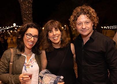 UA School of Theatre, Film & Television's Yuri Makino, Lorna Soroko, and director Xavi Sala at Tucson Cine Mexico. March 2019