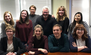 TV Comedy Writing Lab with writer/director Brian Levant. In the final session, this talented group of students got to pitch their show concepts via Skype to studio execs in LA. 2018