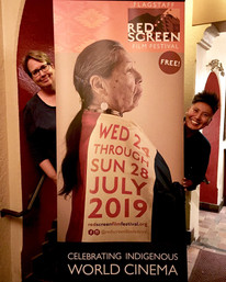 There's a talented team behind the Flagstaff Red Screen Film Festival, two of whom are our Co-Directors Vicky Westover and Shepherd Tsosie! July 2019