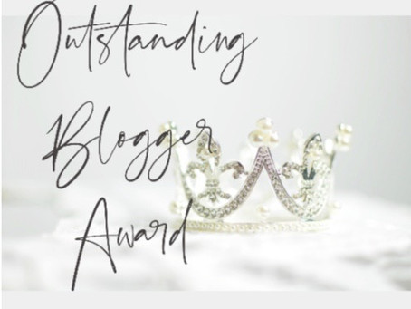 The Outstanding Blogger Award