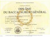 Diplome Bac S