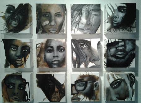 """""""Faces"""" von Claudia Boss"""