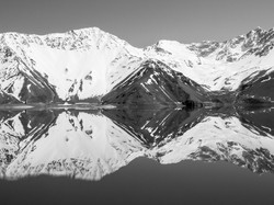 Mono print_Deep Reflections_Gillian Robe