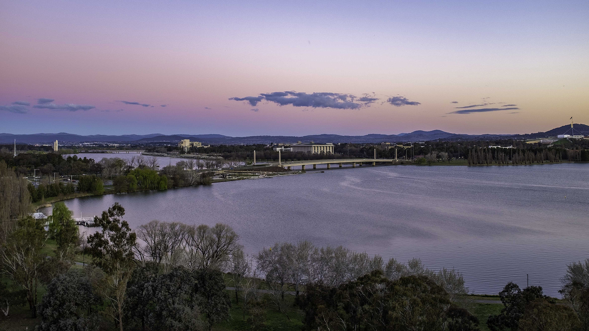 Canberra evening