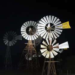 Night Windmills_John Rogers