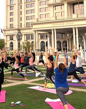 Yoga House Event_ Dubai Fitness Challeng