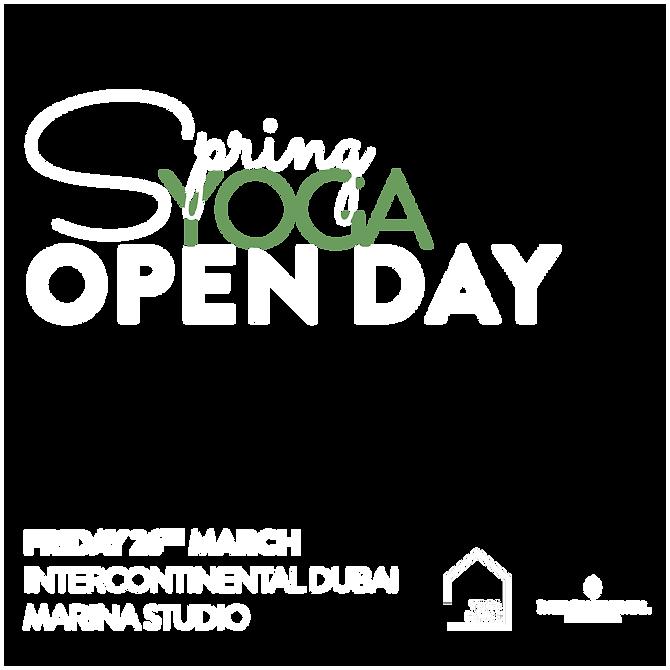 Yoga Spring festival- open day marina -