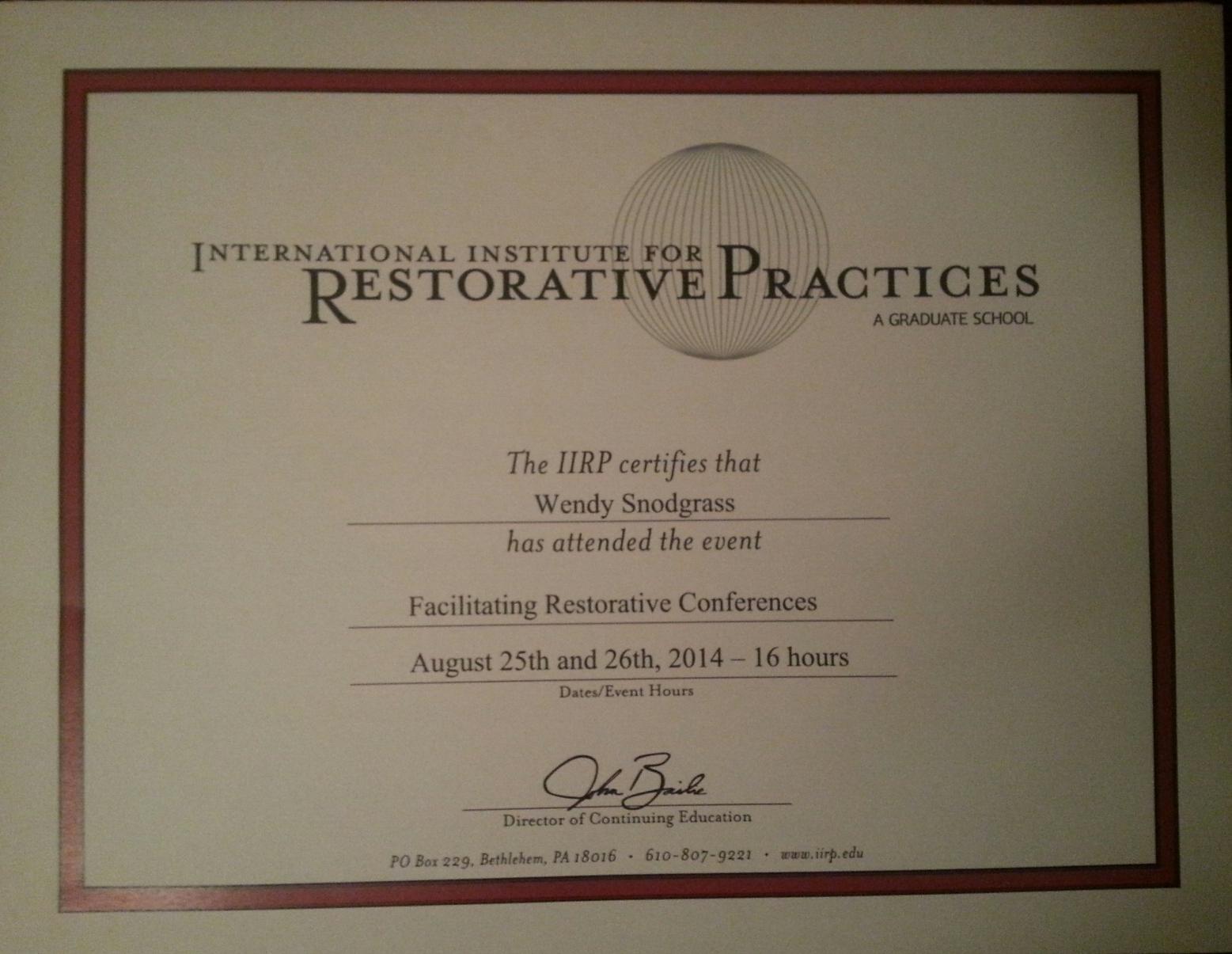 Resorative Practices Certificate _ conferencing.jpeg