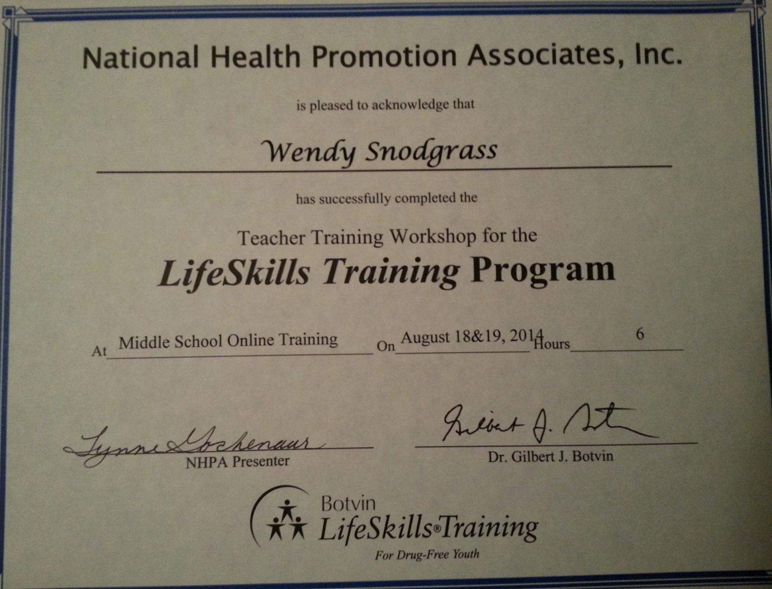 Life Skill Training _certificate.jpeg