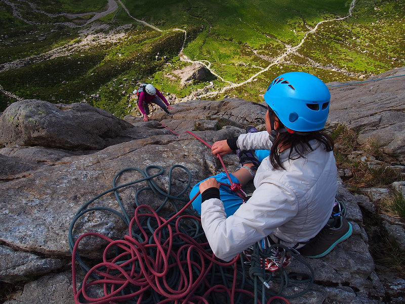 Rock Climbers on Idwal Slabs.JPG
