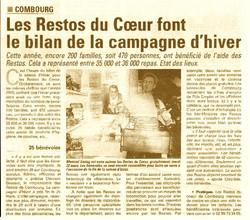 Article Restos 2011