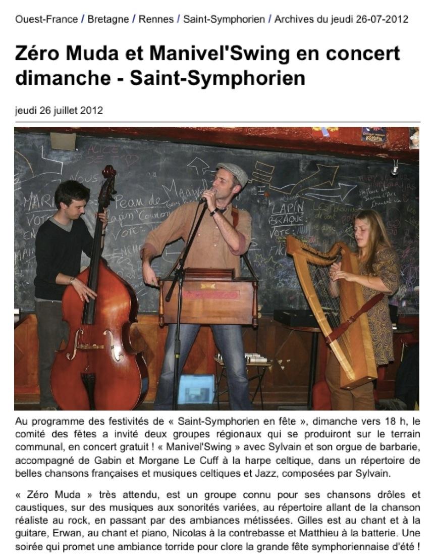 St Symphorien Manivel' & ZeroMuda