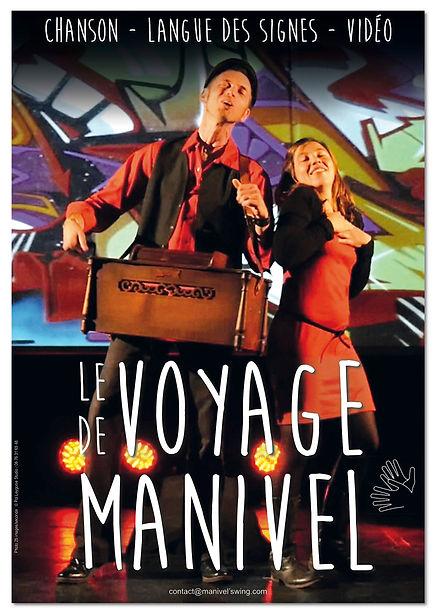 affiche Voyage de Manivel