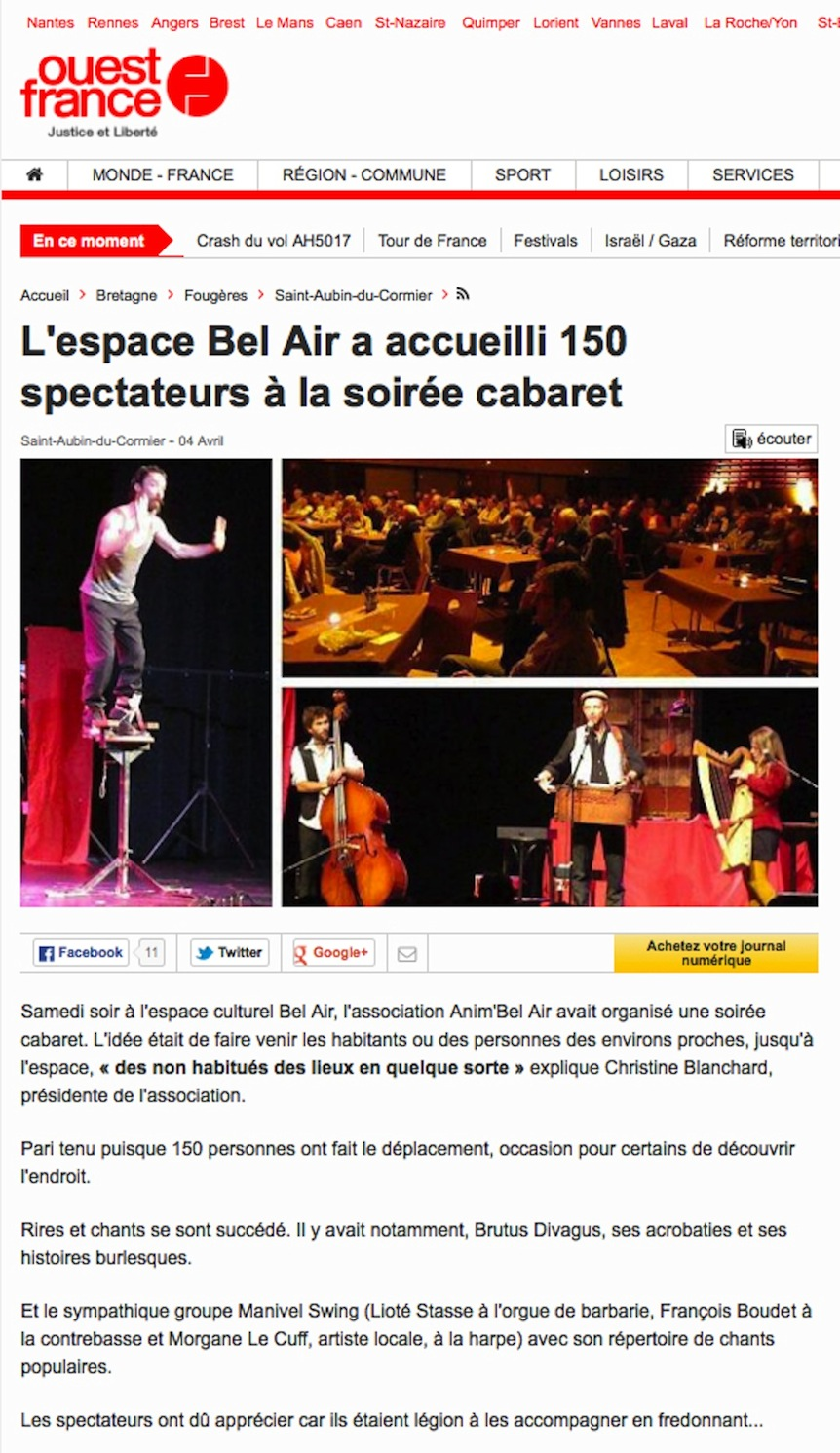 article Bel-air