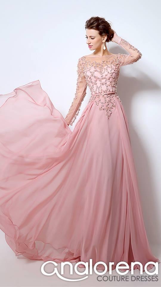Vestidos de graduacion palo de rosa