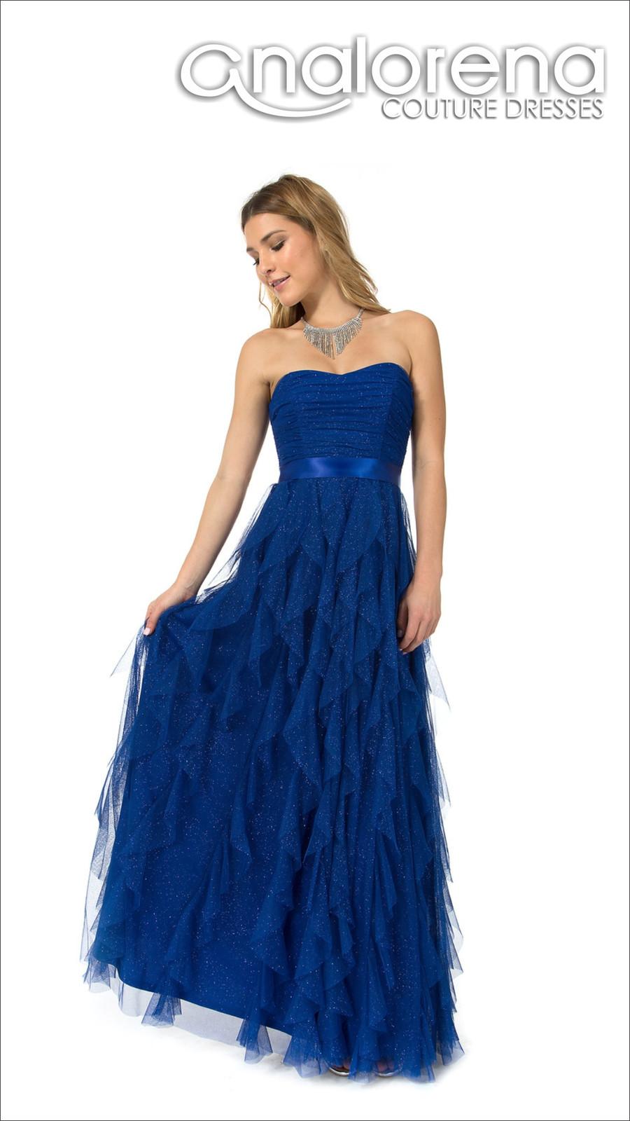 808104f91 vestido de fiesta largo petalos rey