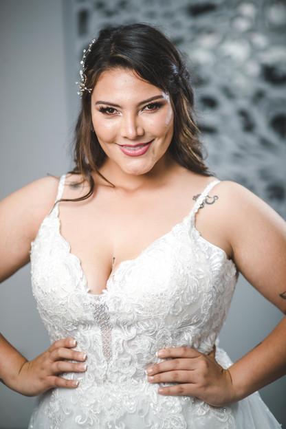Vestido de novia curvy