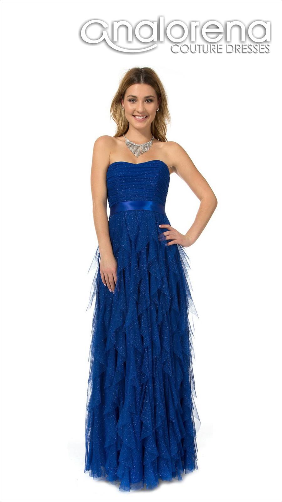 d0e90f025 vestido de fiesta largo petalos rey 2