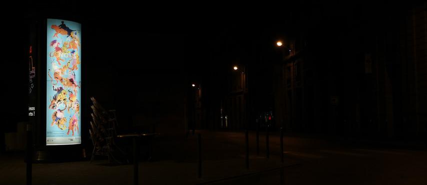 La chevauchée (nocturne)