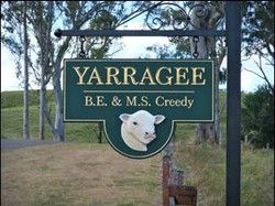 Yarragee Sign