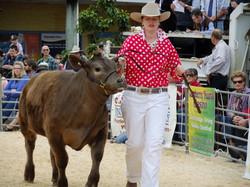 Yarragee show calf