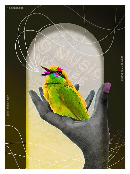 """Songbird, 18""""x24"""""""
