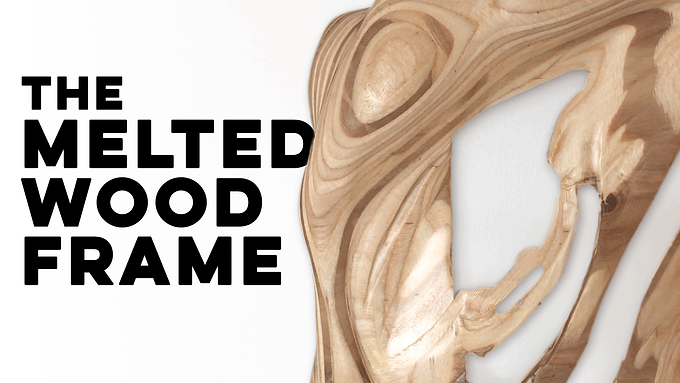 The Melted Wood Frame