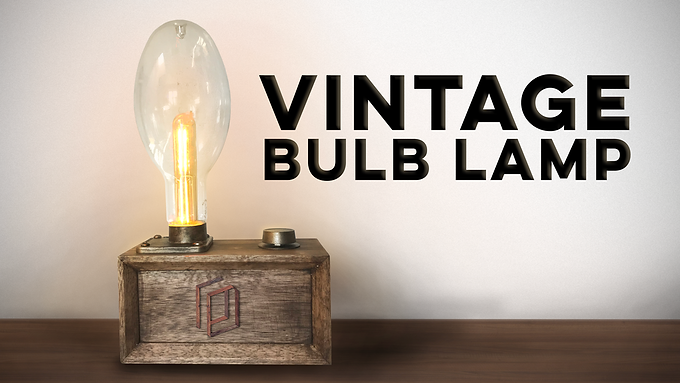 Vintage Bulb Lamp No. 1