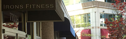 Exterior of Irons Fitness -- Personal Training in Bethesda