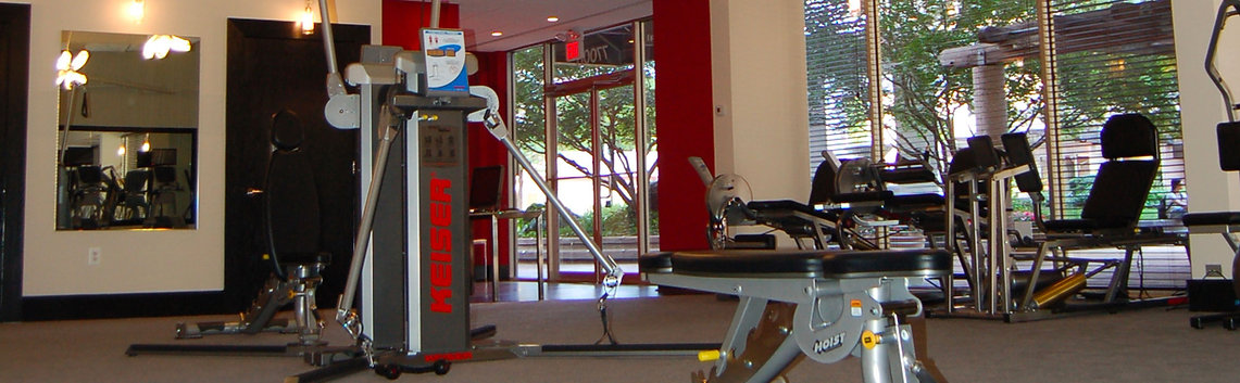 Interior of Irons Fitness -- Personal Trainer in Bethesda
