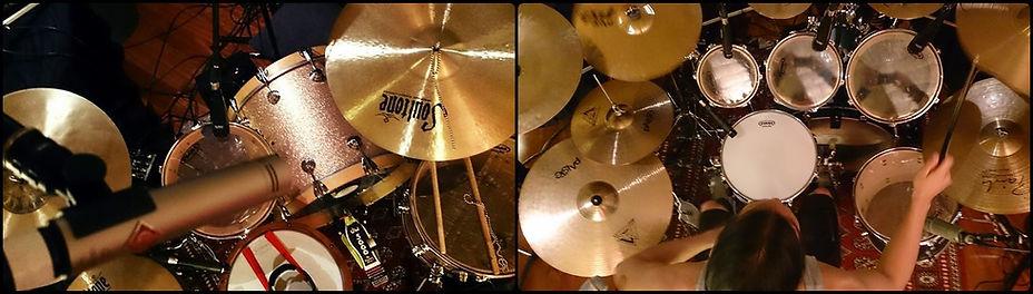 Drum kits and studio quality microphones