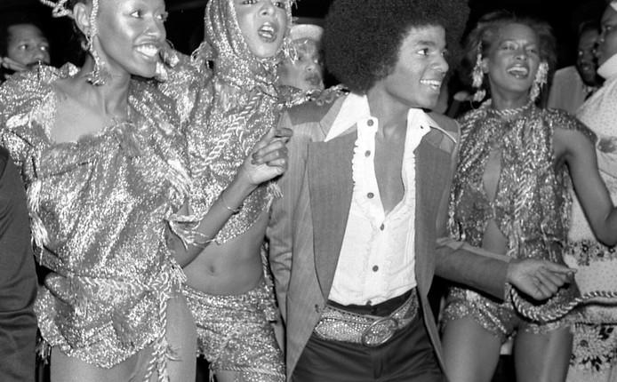 Michael Jackson dancing at Studio 54