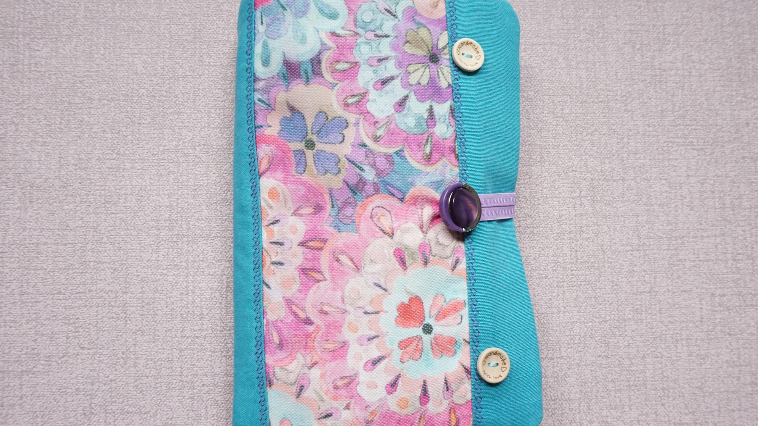 """Текстилна подвързия за книга """"Flower"""