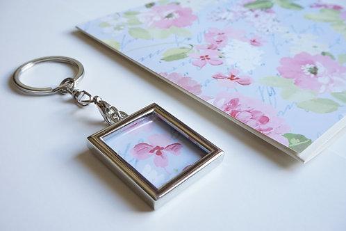 Дамски комплект за подарък- ключодържател и картичка Beauty